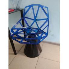 Дизайнерский стул в сборе (прозрачный)