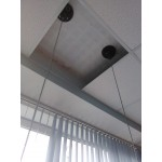 Дизайнерские качели с креплением к потолку в сборе