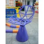 Дизайнерский стул в сборе