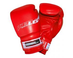 Боксерские перчатки из натуральной кожи Премиум Про 12 унц.