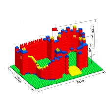 """Замок GB7,5"""" L на платформе 52 х 35"""