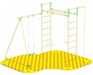 Puzzle Playground для детского спортивного комплекса Leco-IT Outdoor 2,7 х 2,8 м