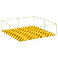 Пазловое дно для детского манежа Leco-IT Home 250 х 250 см
