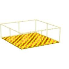 Пазловое дно для детского манежа Leco-IT Home 200 х 200 см