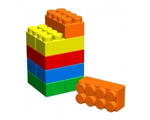 """Набор из 10 элементов GigaBloks 10"""" 4 х 2 для ДСК"""