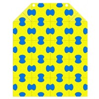 Пазловый коврик под ДСК пристенный Leco-IT 1 х 1,25 м