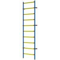 Шведская стенка Leco-IT пластиково-металлическая 240 х 75 см