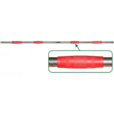 Гриф для штанги Leco-IT Home на диам. 25 мм, 150 см, на 120 кг, вес 6,5 кг