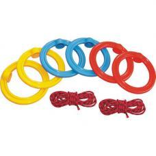 Кольца гимнастические детские с подвесной системой
