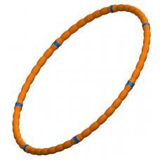 Обруч массажный Leco 80 см, 30 мм, 400 г оранжевый детский
