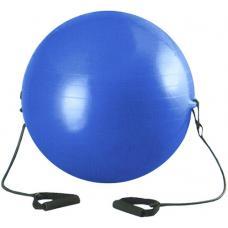 Мяч гимнастический с эспандером 85 см