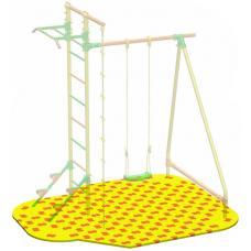 Puzzle Playground для качелей с лестницей Leco-IT Outdoor 2,1 х 2,2 м
