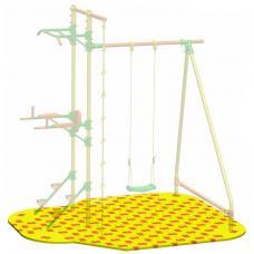 Puzzle Playground для качелей с турником и брусьями Leco-IT Outdoor 2,1 х 2,3 м