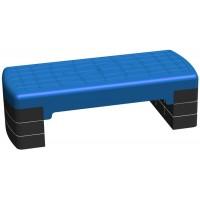 Степплатформа 68 х 28 см 3-х уровневая синяя
