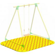 Puzzle Playground для качелей одиночных Leco-IT Street 2,2 х 2,2 м