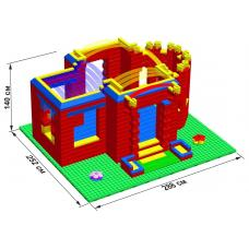 """Дворец GB10"""" L на платформе 48 х 56 ( 252 см. х 288 см. )"""