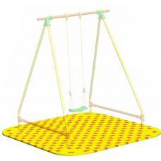 Puzzle Playground для качелей одиночных Leco-IT Outdoor 1,9 х 1,9 м