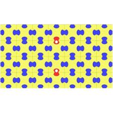 Пазловый коврик под ДСК Leco-IT 1 х 1,75 м