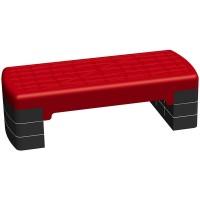 Степплатформа 68 х 28 см 3-х уровневая красная