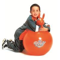 """Мяч гимнастический с ручками """"Хоп-Пони"""" (попрыгун), D. 45см"""