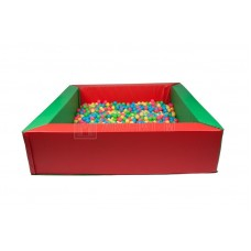 Сухой бассейн с шариками (200х200х40х20)+2000 шариков в  комплекте