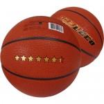 Мяч баскетбольный ЛЕКО 6,5 звезд, 10 класс прочности