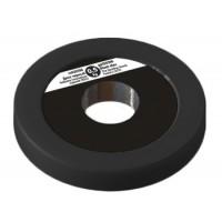Диск 0,5 кг черный на диам. 30 мм