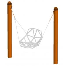 Стойка для подвески данглов односторонняя 1,2 м