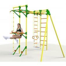 Детский спортивный комплекс с турником и брусьями Leco-IT Outdoor Plus