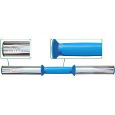 Гриф для гантели Leco-IT Pro+ на диам. 50 мм, 50 см, 3 кг