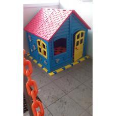 Домик детский игровой для дома и улицы вместе с пазловым дном!