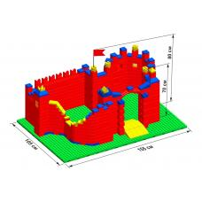 """Замок GB10"""" L на платформе 52 х 35"""