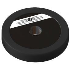 Диск 2,5 кг черный на диам. 30 мм