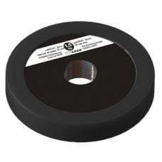 Диск 1,5 кг черный на диам. 30 мм