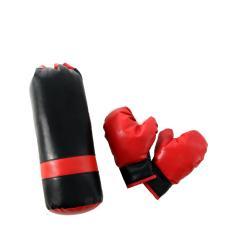 Набор боксерский мешок-груша и перчатки  детские Midzumi M006571 (с наполнителем синтешар)