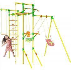 Детский спортивный комплекс с турником и брусьями Leco-IT Outdoor