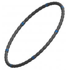 Обруч массажный L-ECO 95 см, 40 мм, 800 г черный