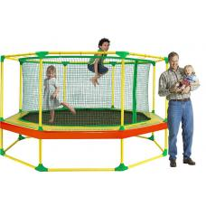 Батут Leco-IT Outdoor с ограждением диам. 270 см