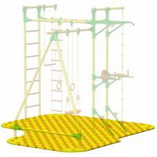 Puzzle Playground для детского спортивного комплекса Leco-IT Street 3,3 х 3,4 м