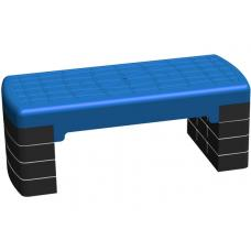 Степплатформа 68 х 28 см 4-х уровневая синяя