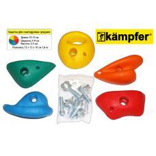 Зацепы для скалодрома средние Kampfer набор  по 5 шт