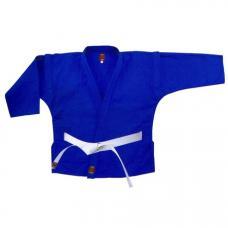 Куртка самбо синяя, рост  от 130 до 180 см.