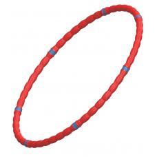 Обруч массажный Leco 95 см, 40 мм, 800 г красный