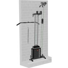 Блоковый тренажер пристенный Leco-IT Starter