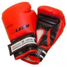 Перчатки боксерские 8 унц. красные и синие