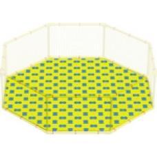 Пазловое дно для большого детского манежа Leco-IT Outdoor диам. 270 см