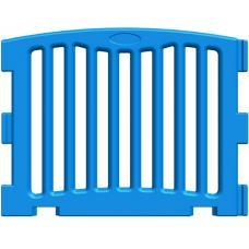 Панель модульного манежа усиленная прямая синяя