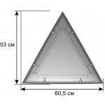 Деталь геокупола 3 м A прозрачная