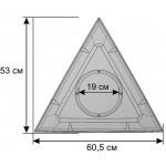 Деталь геокупола 3 м С прозрачная