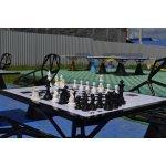 Панель Шахматная доска с игровым полем 40 х 40 см магнитная с крепежом